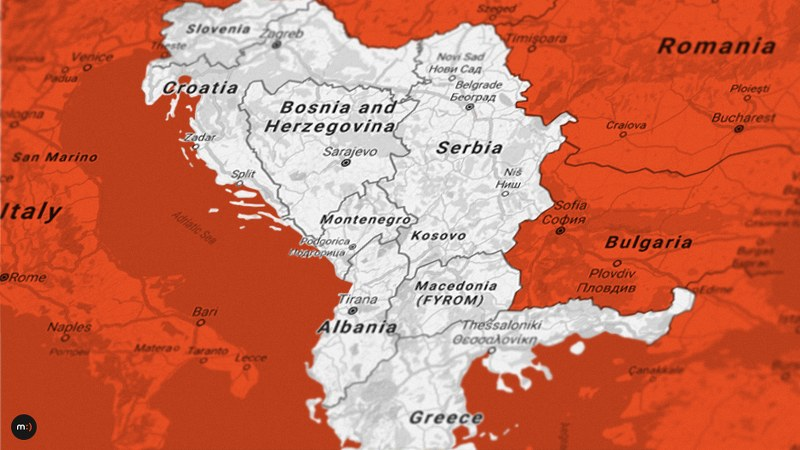 An Ethnic Map Of A Part Of O Ld Serbia Vemic 2005 Reduced
